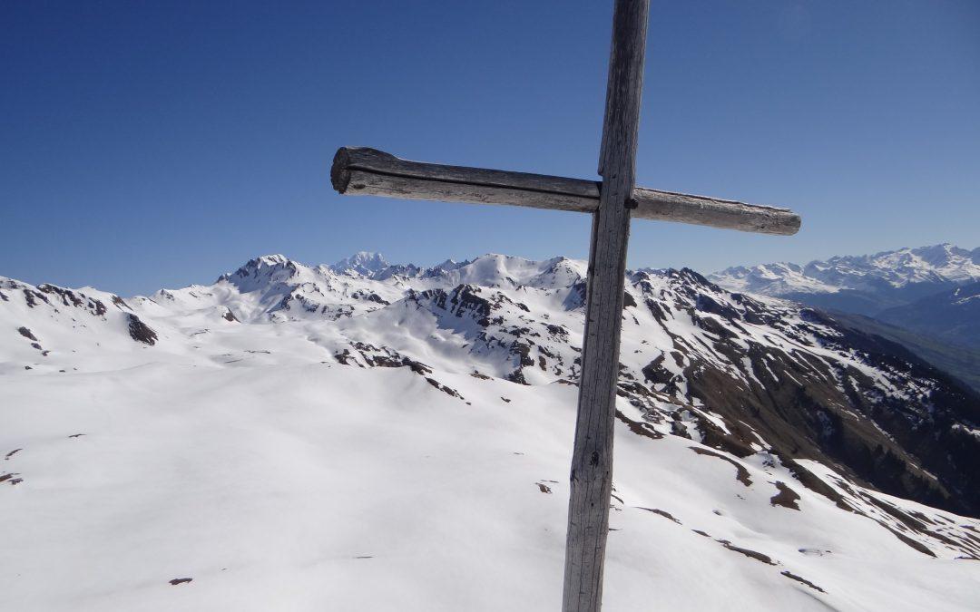 QUERMOZ 2296m en randonnée à ski